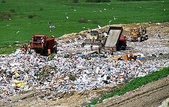 Landfill - A landfill in Poland