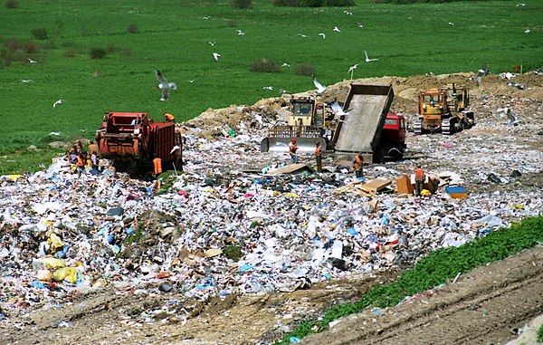 Image result for Waste Management aiming to expand Wisconsin's largest landfill via Superfund excavation