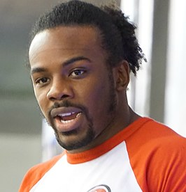 Xavier Woods in maart 2015