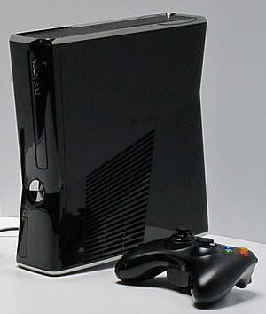 Xbox 360 250 GB as shown at the 2010 Electroni...