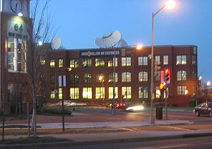 XM Satellite Radio - XM Satellite Radio headquarters in Washington, D.C., near the NoMa – Gallaudet University Metro station.