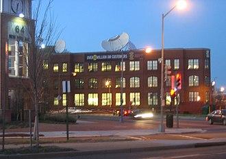 XM Satellite Radio - XM Satellite Radio headquarters in Washington, D.C., near the NoMa – Gallaudet University Metro station.