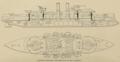 Yashima (ship, 1897) - Plan - Cassier's 1898-02.png