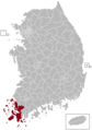 Yeongam Postal central office precinct map.png
