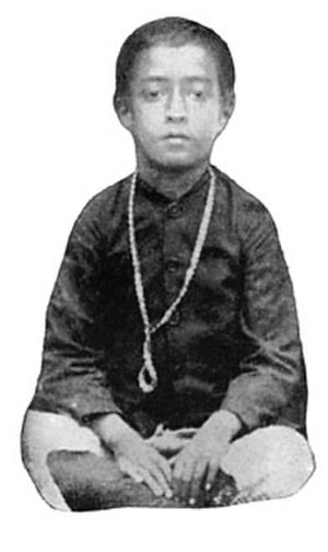 Paramahansa Yogananda - Yogananda at age six