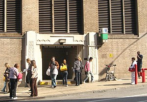 York Street (IND Sixth Avenue Line) - Street entrance