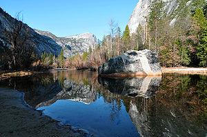Mirror Lake (California) - Mirror Lake, March 2010