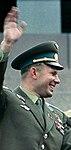 Yury Gagarin at Lenin Mausoleum 1963.jpg