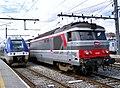 Z 27592 et BB 67383 en gare d'Annecy (2008).JPG