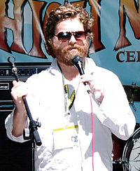 Zach Galifianakis 2007.
