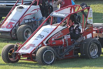 POWRi Midget Racing - Zack Daum in 2014