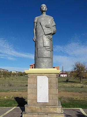 Zaya Pandita - Statue of Zaya Pandita. Elista, Kalmykia.