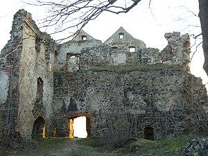 Hans Ulrich von Schaffgotsch - Ruins of Greiffenstein.