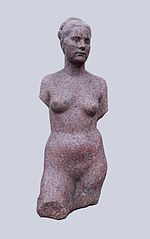 Sculpture of Eve by August Zamoyski