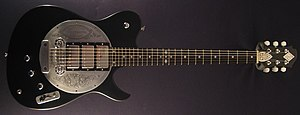 "Tony Zemaitis - Zemaitis ""Disc"" guitar, a close copy of the original model build for and used by Ron Wood."