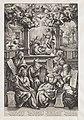 Zes profeten en de verkondiging aan Maria, RP-P-OB-10.323.jpg