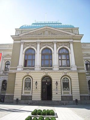 Kruševac - Image: Zgrada okružnog načelstva u Kruševcu 2