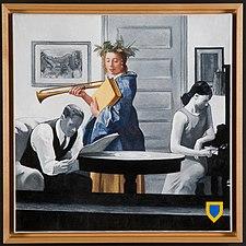 Zimmer in New York, Joachim Kupke, Öl auf Leinwand, 2009.jpg