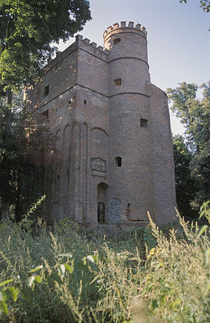 Żmigród - Castellan tower in Żmigród