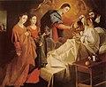 Zurbarán - Milagrosa Curación del Beato Reginaldo de Orleans, 1626.jpg