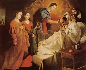 Miraculous Healing of the Blessed Reginald of Orleans