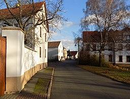 Mühlenstraße in Borsdorf