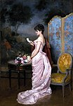 """""""The Love Letter"""" by Auguste Toulmouche.jpg"""