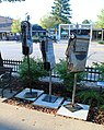 """Three Old Furnace Fellas"" Sculpture, Downtown Tecumseh, Michigan - panoramio.jpg"