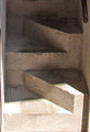 """ 07 - ITALY - scala sfalsata Castelvecchio - Carlo Scarpa - stair with staggered steps.jpg"