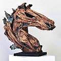 'Mischief' a horse bust sculpture by Janko De Beer.jpg