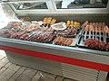 'Shish Kebab's' on display in Bobur Restaurant in Samarkand..jpg