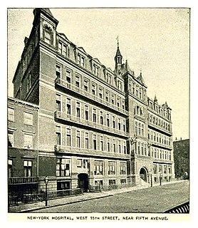 New York Hospital former hospital in Manhattan, United States