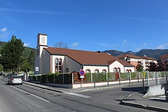 Religion in France - Mormon meetinghouse in Gex, Ain.