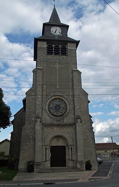 Église à Prunay.