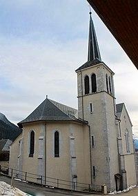 Église Saint-Maurice de Bellecombe-en-Bauges-Clocher-2 (2017).jpg