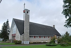 Scotstown, Quebec - Image: Église Scotstown 01
