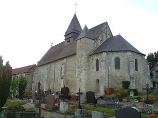 Harquency Commune in Normandy, France