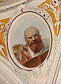 Église de Monteprato, fresque de Tita Gori, saint Luc.jpg