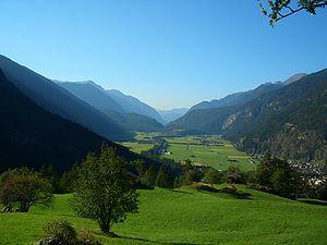Ötztal - Image: Ötztal bei Längenfeld