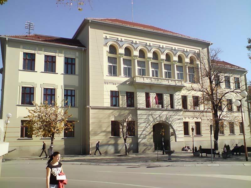 Čačak's high school