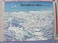 Špindlerův Mlýn, mapa lyžařského střediska.jpg