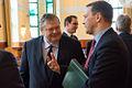 Συμμετοχή Αντιπροέδρου της Κυβέρνησης και ΥΠΕΞ Ευ. Βενιζέλου στην Υπουργική Συνάντηση Visegrad+3 (Bουδαπέστη, 24.02.2014) (12745811293).jpg