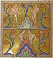 Адам и Ева(?). Миниатюра из Абердинского бестиария.png