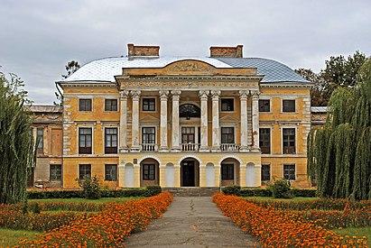 Вороновиця - Палац Грохольських DSC 1711.JPG