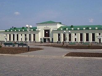 Shepetivka - Image: Залізничний вокзал станції Шепетівка 3254006