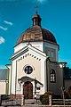 Костел Св. Лазаря, Жовква, вигляд з вул. Львівської.jpg