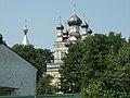 Латвия (Latvija), Рига (Rīga) (Mēness iela), церковь (Debesbraukšanas pareizticīgo baznīcas), 13-59 10.07.2006 - panoramio.jpg