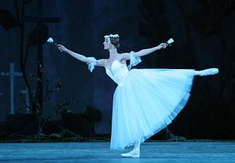 Russian ballet - A performance of Giselle, ou Les Wilis