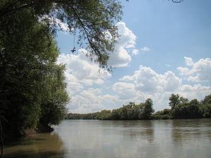 Laba River - Image: Огонёк Лаба 002