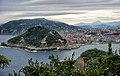 Сан Себастьян с высоты птичьего полета - panoramio.jpg